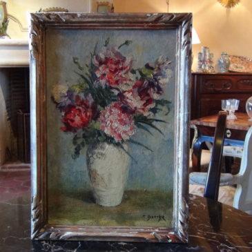 Thérèse DARCHE, Vase de fleurs.