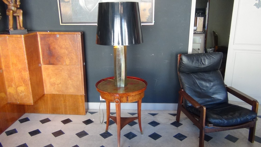 lampe laiton vers 1960 - Broc-Chic®