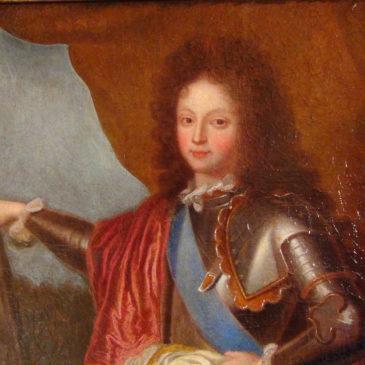Portrait de Philippe D'Orléans Duc de Chartres