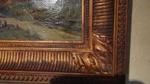 Huile sur toile XIX -   Broc-Chic®