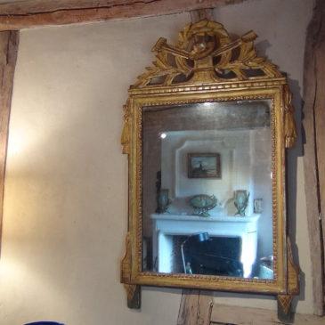 Miroir style Louis XVI début XIX ème