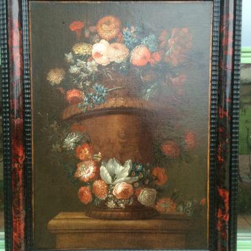Tableau Bouquet de Fleurs fin XVII ème