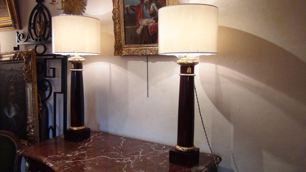 Paire de colonnes Empire - Broc-Chic ®