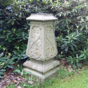 Gaine de Jardin en fonte  Art Nouveau, Alfred CORNEAU