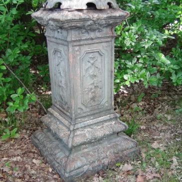 Gaine de Jardin en fonte style Louis XVI, Alfred CORNEAU