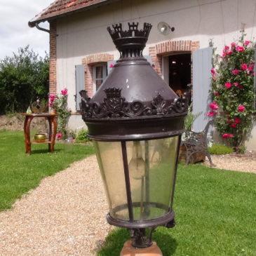 Lanterne de réverbère Parisien