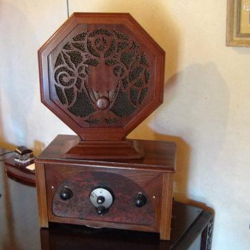 Poste radio vers 1920