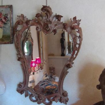 Miroir Style rocaille