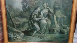 huile sur toile XVIII ème- Broc-Chic®