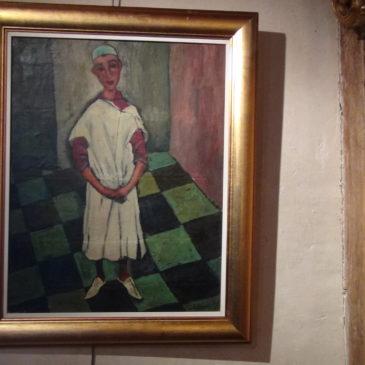 """Huile sur toile """"Jeune Tunisien"""""""