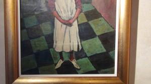"Huile sur toile ""Jeune tunisien""- Broc-Chic®"