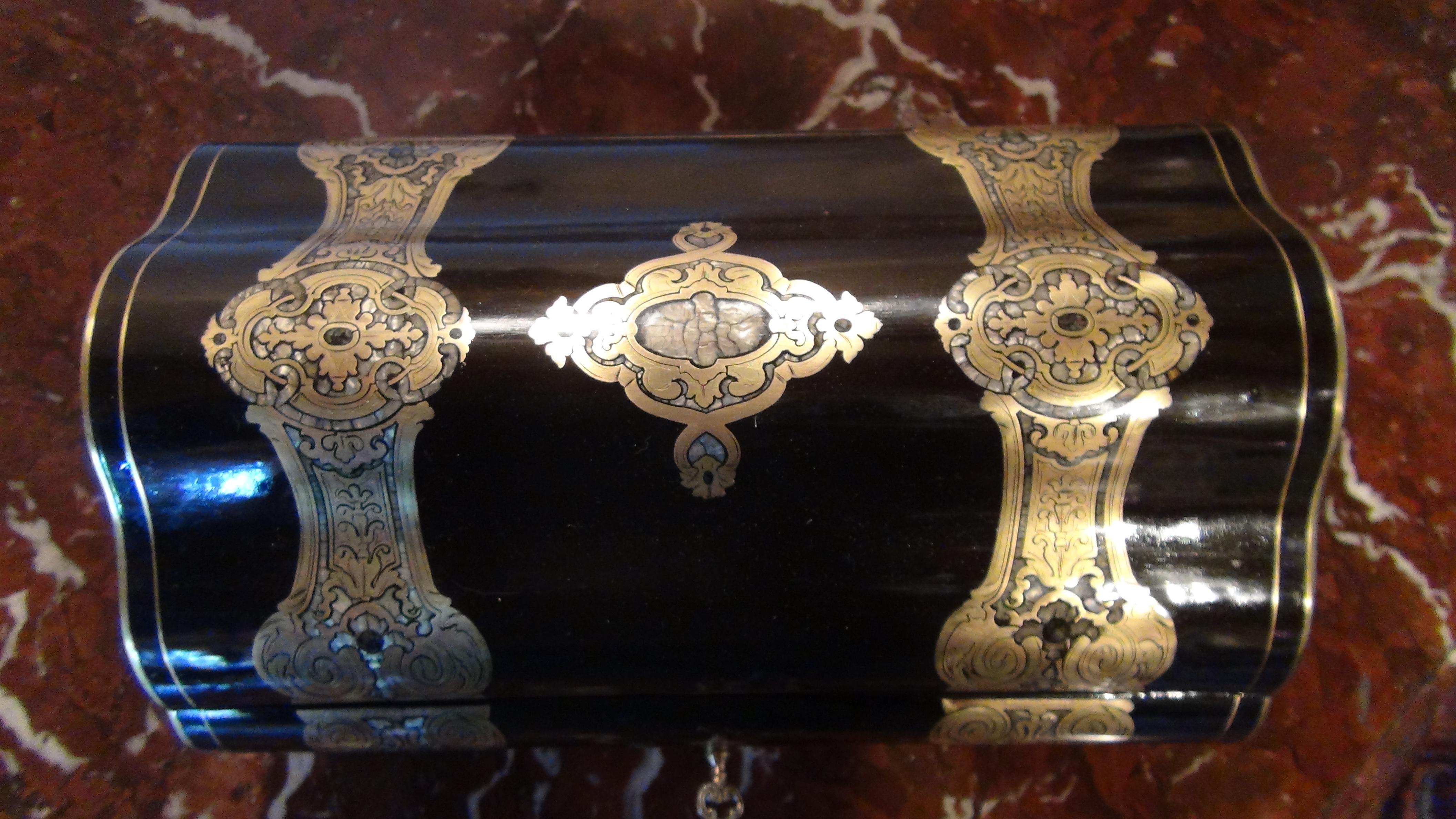 coffret poque napol on iii duchaylat antiquit s. Black Bedroom Furniture Sets. Home Design Ideas